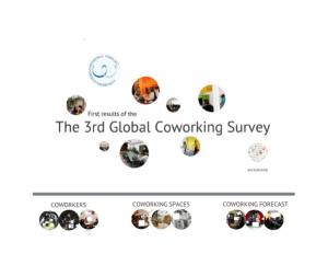 Resultados do terceiro inquérito mundial de Coworking