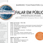 Maquijig recebe Sessão Toastmasters Club Barreiro – 8, 9 e 16 de maio