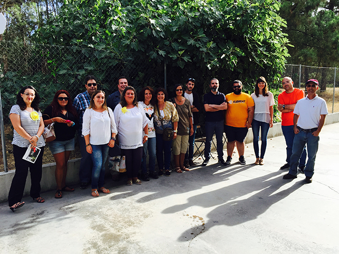 Visita de formandos do IEFP